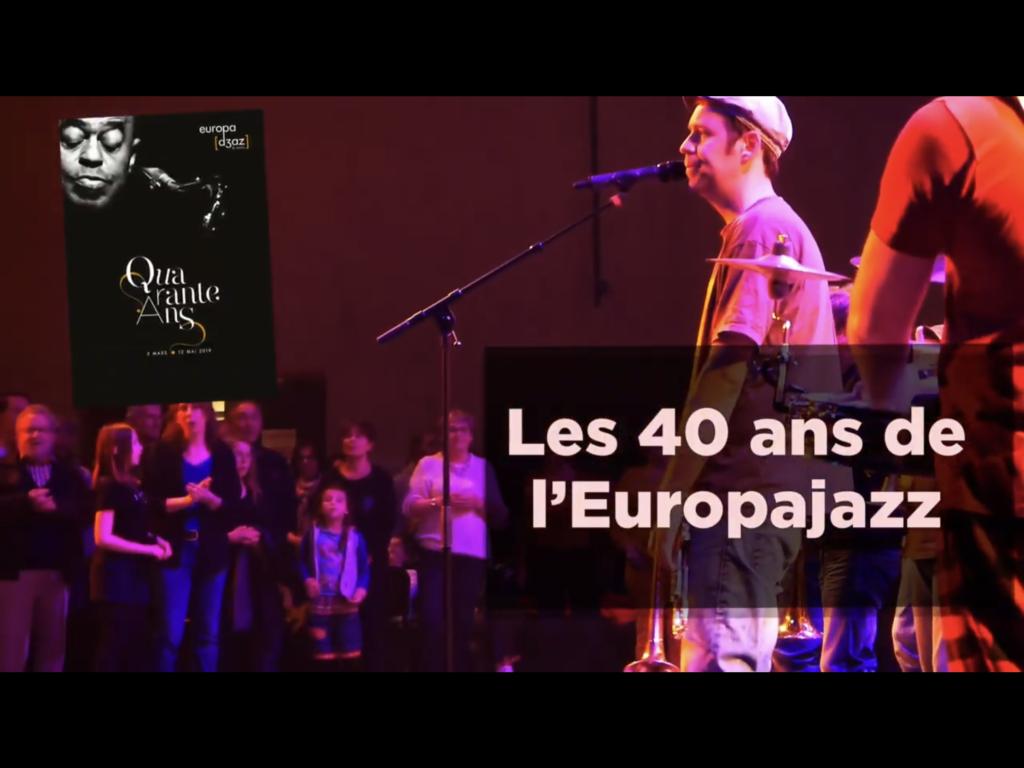 Reportage de certification des Gobelins ouverture 40 ans de l'Europajazz