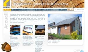 Web-design du site boussiquet