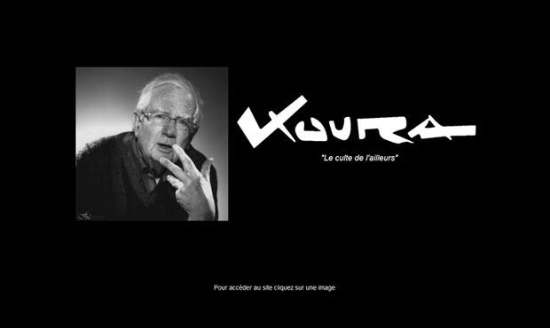 Création du site de Bernard Koura en 2012