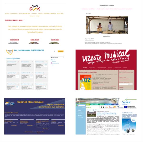 Création de sites web professionnels